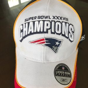 Patriots 2004 Super Bowl Champions Baseball Hat
